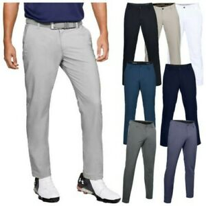 2019 Under Armour Mens EU Performance Slim Stretch Tapered Golf Trousers Pants