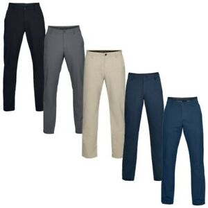 2019 Under Armour Mens EU Performance Stretch Tapered Golf Trousers Pants UA
