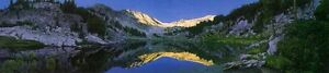 Stephen Lyman SUNRISE IN THE WALLOWAS Anniversary Giclee Canvas #41150