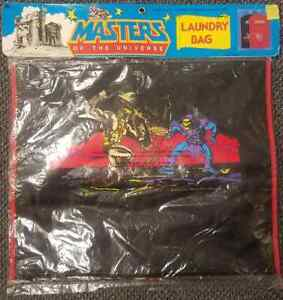 He-Man Masters Of The Universe Factory Sealed Laundry Bag **RARE**