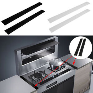 Silicone Stove Counter Gap Cover Flexible Seals 1 Pieces Rectangle Kitchen Tool