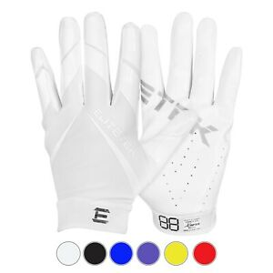 Authentic EliteTek RG 14 Football Grip Gloves Youth and Adult