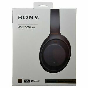 SONY WH-1000XM3 Wireless Noise-Canceling Headphones BLACK Worldwide Version NEW!