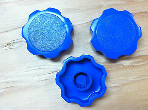 DILLON set of 3 ROSETTE PRESS ON KNOBSPOWDER MEASURES RELOADING MACHINE 650550