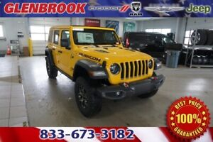 2019 Wrangler Unlimited Rubicon 2019 Jeep Wrangler Unlimited Rubicon 10 Miles Hellayella Clearcoat 4D Sport Util