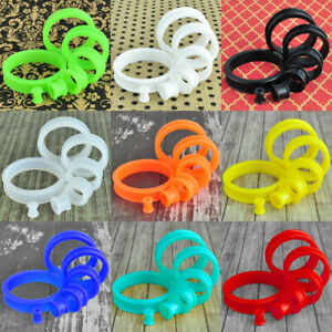 1 Pair Colorful Soft Silicone Flexible Ear Tunnels Plugs Gauges Eyelets Earlets