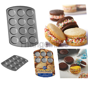 Wilton Perfect Results Premium Non-Stick Muffin Top Baking Pan Enjoy the Bes...