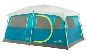 8-Person Camping Cabin Tent Closet Outdoor Camp Hiking Sport Coleman Storage