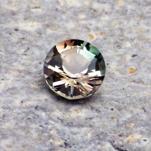 BLUE-GREEN-RED MULTICOLOR OREGON SUNSTONE 0.80Ct FLAWLESS-PERFECT RING SIZED GEM
