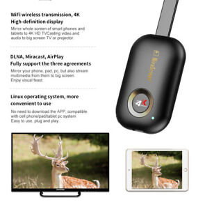 MiraScreen 5.8G G9 Plus TV Stick Dongle Anycast Crome Cast HDMI WiFi Receiver