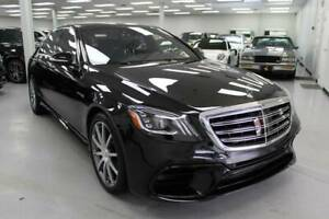 2018 S-Class AMG S 63 AWD 4MATIC 4dr Sedan 2018 Mercedes-Benz S-Class for sale!
