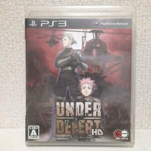 PlayStation 3 PS3 video game Under Defeat HD from Japan FS used
