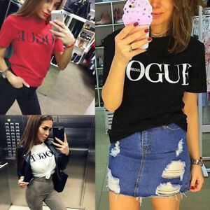 Women Casual Blouse Short Sleeve Fashion T Shirt Loose Short Dress Tops