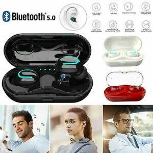 IPX7 Waterproof Touch Mini True Bluetooth 5.0 Earbuds Wireless Headset Headphone