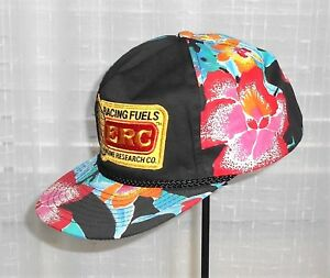 ERC Racing Fuels Engine Research Co Tropical Vented Snap Back Hat Cap