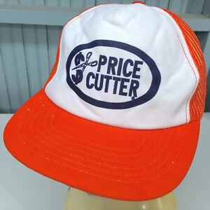 VTG Price Cutter Snapback Foam Front Mesh Baseball Cap Hat Made in USA