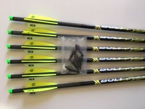 TEN POINT CROSSBOW BOLTS BY VICTORY 6 PACK HMOON 20