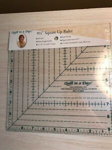 Quilt In A Day 9 1 2in by 9 1 2in Square Up Ruler $16.95