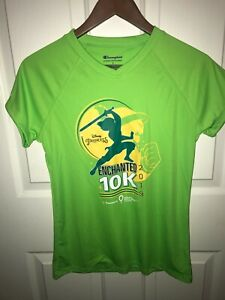 Run Disney 2019 Princess Half Marathon 10K race shirt - Women's Size Small