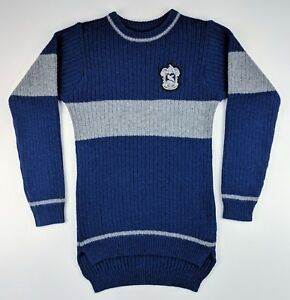Universal Studios Harry Potter - Ravenclaw Quidditch Lambswool Sweater - Size XS