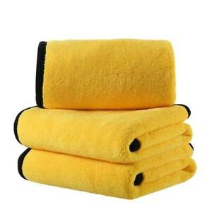 Bulk 800GSM Premium Plush Microfiber Towel Professional car Wash Drying Cleaning