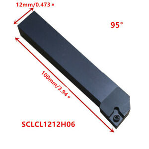 20P SCLCL1212H06 CNC Lathe Turning Tool CuttingToolholder For CCMT0602 Insert