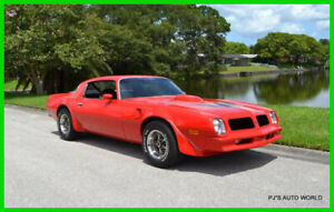 1976 Pontiac Firebird Trans Am Numbers matching  BUILD SHEET.... MUST SELL! 1976 Numbers matching L75 455 HO factory radio and console delete