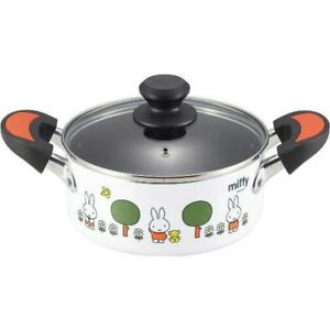 MIFFY DB 03 Aluminum Stewpot 18cm 1.8ml Compatible IH From Japan with Tracking