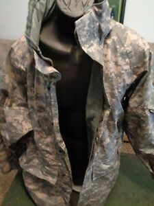 GI COLD WEATHER ACU Camo Genuine US Military Issue PARKA LARGE LONG