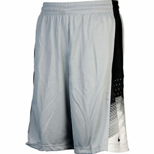 Nike Elite World Tour Dri-Fit Basketball Shorts Grey Men's Medium Large XL BNWT