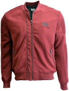 NANA jUDY BURGUNDY ZIP UP JACKET SIZE SMALL FOR MEN BRAND NEW WITH TAGS
