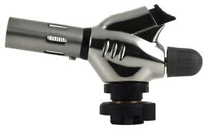 MR.TORCH Full Metal Cover Trigger Start Butane Gas Cooking Torch Head,Heavy Duty