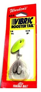 Worden's Lures Vibric Rooster Tail 18oz. Snow WhiteChartreuse Shimmer (Clyde)