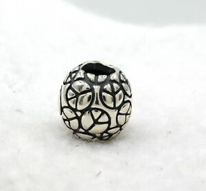 PANDORA Charm PEACE Symbol Bead 925 Sterling Silver New Without Tag