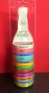 2005 Fred Beer Bands 12 Colors amp; Personalities Stretch Bands Tailgating Parties