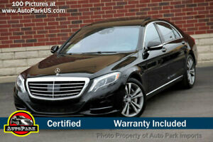2015 Mercedes-Benz S-Class 4dr Sedan S 550 4MATIC 2015 Mercedes S550 4MATIC Premium 1 Driver Assistance Pkg Warmth