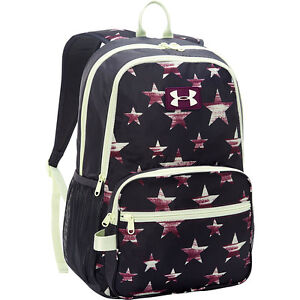 NEW Girls Under Armour Great Escape Backpack 23L White Black Pink $47.98
