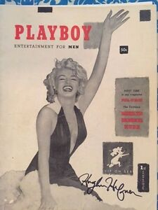 COMPLETE PLAYBOY COLLECTION WITH 1ST ISSUE SIGNED BY HUGH HEFNER wCOA.