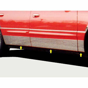 6p Luxury FX Chrome 7 14-7 916' Tapered Door Molding fits 97-05 Buick Park Ave
