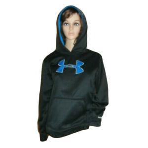 Under Armour Storm Black Teal Hoodie Youth XL $18.00