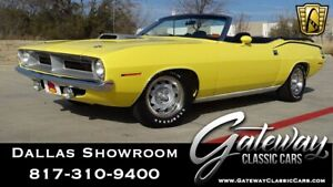 1970 Plymouth Barracuda -- 440 CID V8 6 Pack 1970 Plymouth Barracuda  Convertible 440 CID V8 6 Pack 4 Speed
