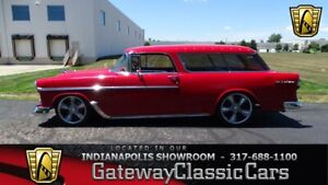 1955 Nomad -- 1955 Chevrolet Nomad  4 Miles Wagon 5.7L LS1 V8 4 Speed Automatic