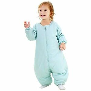 Baby Sleep Bag With Feet Winter Wearable Blanket Legs Sack For Toddler Thicken