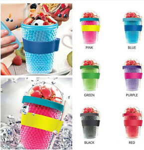 Healthy Food On the Go Frozen Yogurt w/ Fruits To Go Diet Food Storage Container