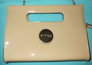 St. Nicola New York Patent Leather Cross Body Handbag Shoulder Bag