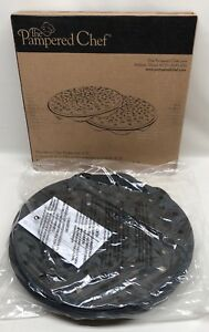 NEW Pampered Chef Microwave Chip Maker 1241 NIB Set of Two