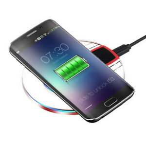 Qi Wireless Charger Charging Pad for  Samsung Galaxy S8 Plus S9 S9 Plus Note 8