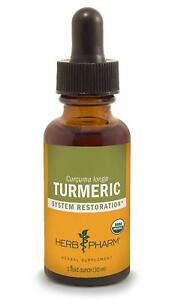 Certified Organic Turmeric Root Liquid Extract for Musculoskeletal System Suppo