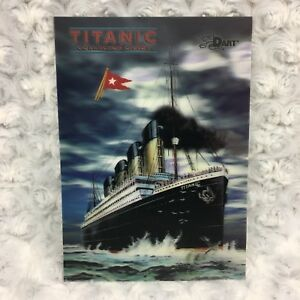 Titanic Museum Florida 3D Lenticular Finish Collectors Card Dart Brand Vtg 1998