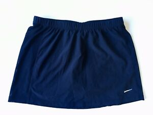 Nike DriFit Womens shorts skirt XS Size 0-2 RN56323 CA 05553 Navy Blue CLEARANCE